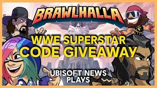 Brawlhalla: New WWE Superstars Gameplay | Ubisoft [NA]