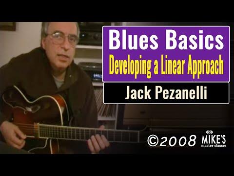 Jack Pezanelli - Developing a Linear Approach to Blues
