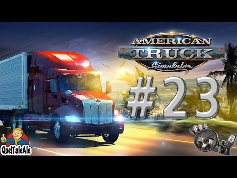American Truck Simulator - Gameplay ITA - Logitech G27 - #23 - Livellamento
