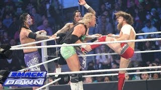 Daniel Bryan & The Usos vs. Kane & The New Age Outlaws: SmackDown, Feb. 28, 2014