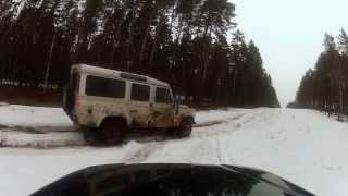 2.Winter OffRoad Land Rover and Subaru
