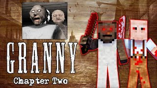 MONSTER SCHOOL: GRANNY CHAPTER 2 CHALLENGE - MINECRAFT ANIMATION