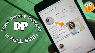 How to View Instagram Profile Picture of Any Account in FULL SIZE 2018!
