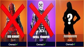The Only 10 OG SKINS Left In Fortnite...