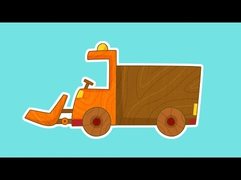 Сериал для мальчиков Машинки. Снегоуборочная машина.