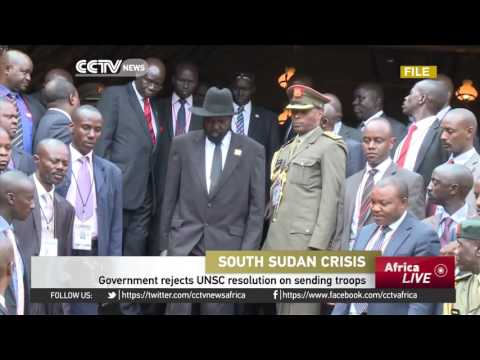 South Sudan Government Rejects UNSC Resolution On Sending Troops