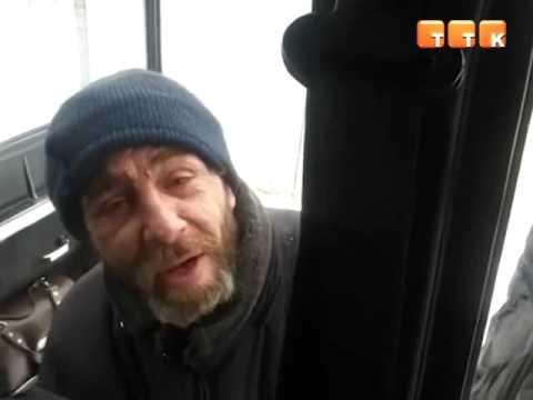 Бомж из Темиртау стал звездой YouTube