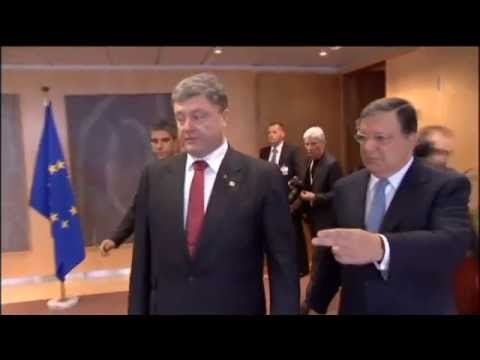 Poroshenko meets EU leaders: Ukrainian president calls for new sanctions against Russia
