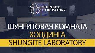 Шунгитовая комната холдинга Shungite Laboratory.