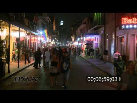 Hurricane Gustav Video, 2008 Part 2 - 8/29/2008. New Orleans, LA