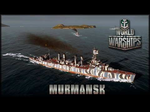 World of Warships - Open Beta - RU: Murmansk - Stufe 5 Premium [ deutsch | gameplay ]