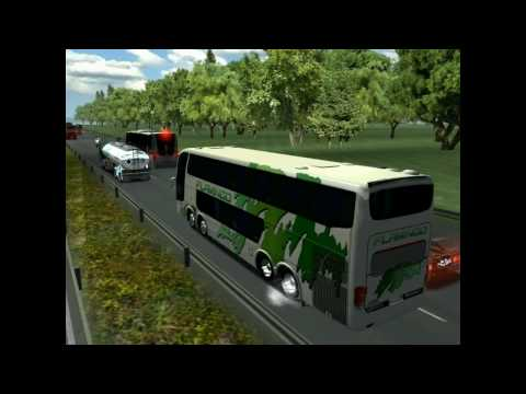 18 WOS HAULIN EUmap28 bus trip to Berlin with Marcopolo DD1800 part2