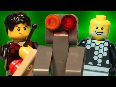Team A Vs Team B: Robot War - Lego Animation