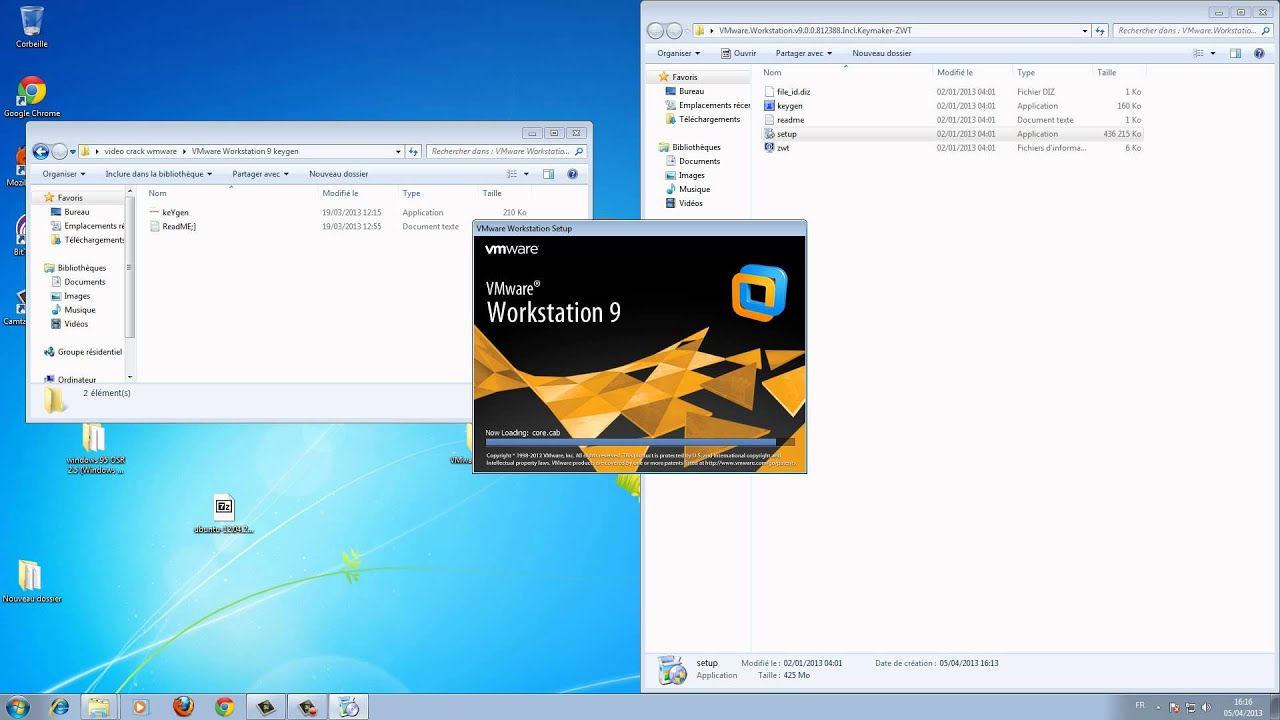 Crack VMware Workstation 9 Fr. language and power fairclough.