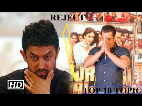 Aamir Khan Reject TOP 10 Superhit Movies After DO Salman , Shahrukh And Others