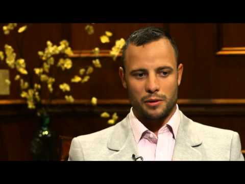 Oscar Pistorius interview with Larry King
