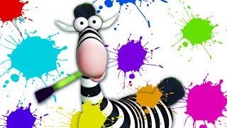 Desene animate Gazun | Pictura in Jungla | desene animate pentru copii | Gazoon animated cartoons