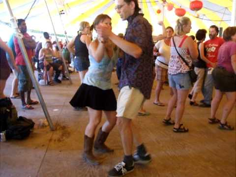 zydeco dancing to preston frank grassroots 2010 youtube