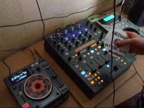 New mixer try out behringer ddm4000 hard house