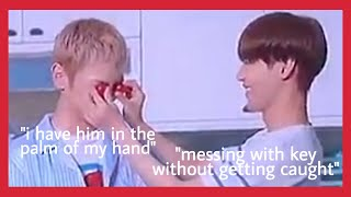 taemin and key annoying each other for 9 minutes straight