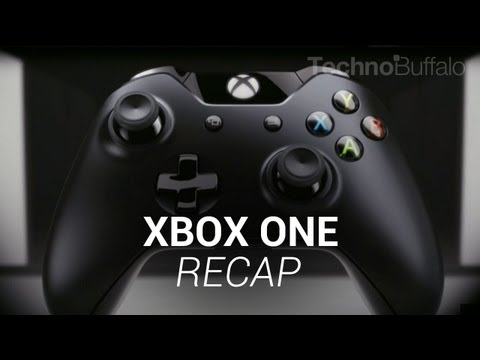 Xbox One Keynote Recap!