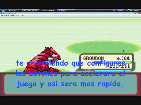 pokemon rubi-como subir un pokemon al nivel 100