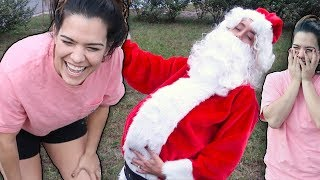 SANTA SURPRISED MY SISTER!! 🎅🏼