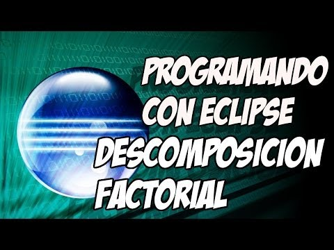 Programación Java. Descomposición factorial