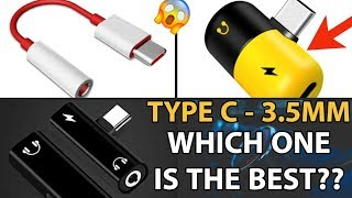 BEST  TYPE C TO 3.5MM JACK CONNECTOR | AMAZON | JULY 2019