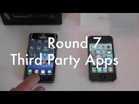 Samsung Galaxy S2 vs Apple iPhone 4