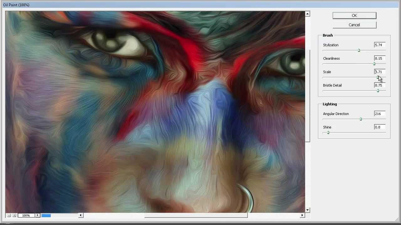 Oil Paint Photoshop