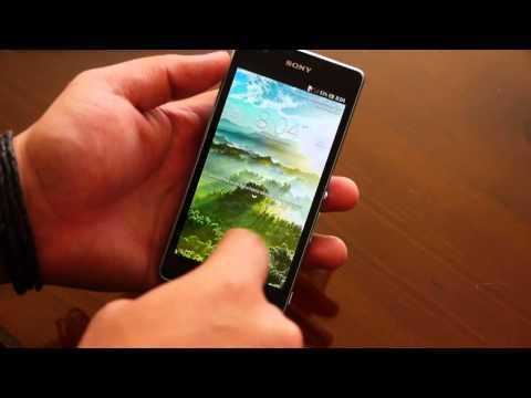 Sony Xperia ZR. unboxing y análisis en español
