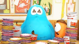 Download lagu Funny Animated Cartoon | Spookiz Too Much Food Equals Toilet Time 스푸키즈 | Videos For Kids