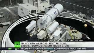 US (Navy) readies lasers and rail guns for deployment  3/19/14