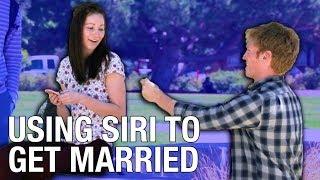 Using Siri To Get Married Prank