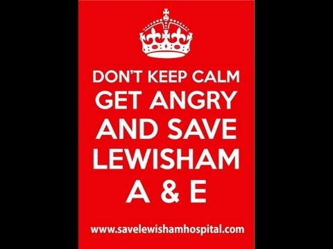 SAVE LEWISHAM HOSPITAL A&E- QUESTION Musiq ft Lewisham NHS Choir Official Song - (Out Now on ITUNES)