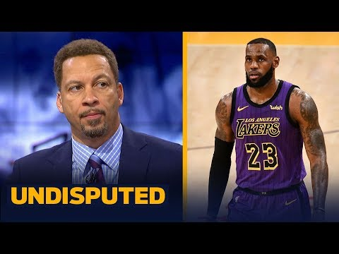 Chris Broussard: LeBron's 44-point performance was 'spectacular' against Blazers | NBA | UNDISPUTED