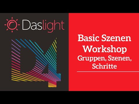 Basic Szenen Workshop  | Daslight 4 DVC4 Videotutorial