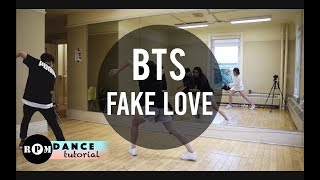"BTS ""Fake Love"" Dance Tutorial (Chorus)"