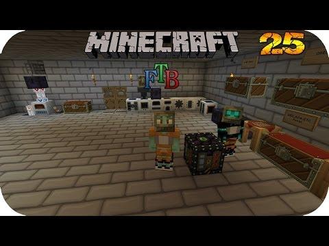 MINECRAFT TECH WORLD 2 #25 - Tesseract und Iron Tank★Let's Play★