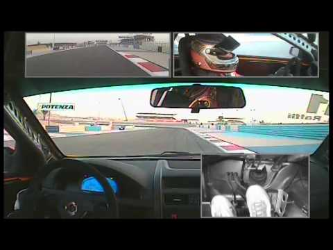 Onboard Victory for Raed Raffii in F1 Support at Bahrain in Race 1 - V8s ME Rnd 6 (Part 2)