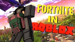 FORTNITE IN ROBLOX !!