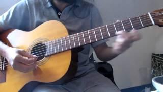How to Guitar Madhuram Jeevamrutha - Malayalam Indian Classical based song on Guitar