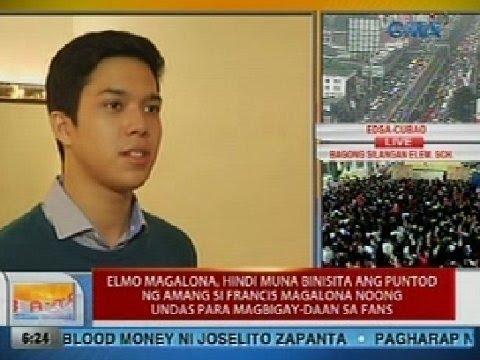 UB: Elmo Magalona, hindi muna binisita ang puntod ng amang si Francis M. noong Undas
