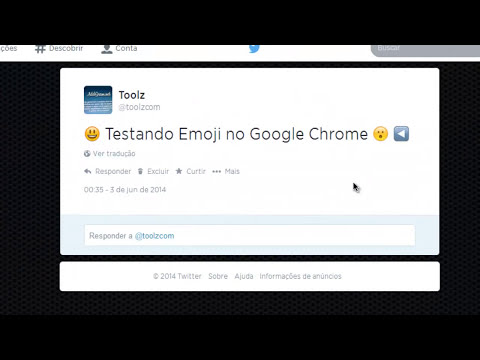 Como colocar emoticons no Twitter