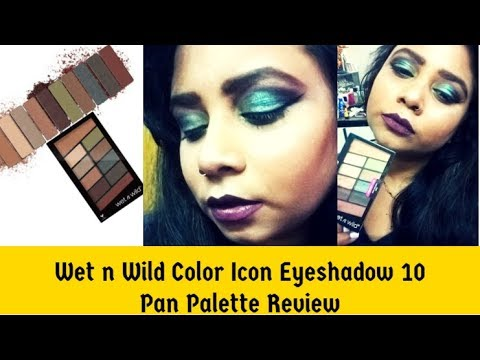*New* Most Affordable Wet n Wild Color Icon Eyeshadow 10 Pan Palette Review|Step By StepTutorial
