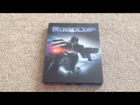 Robocop (2014) UK Blu-ray steelbook unboxing
