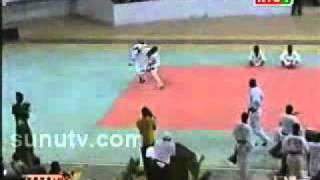 Taekwondoistes Sénégalais mode Youza