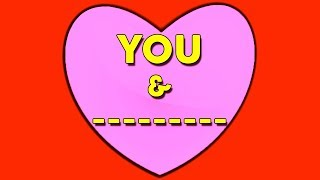 HOW MANY LETTERS DOES YOUR TRUE LOVE?S NAME HAVE? Love Personality Quiz