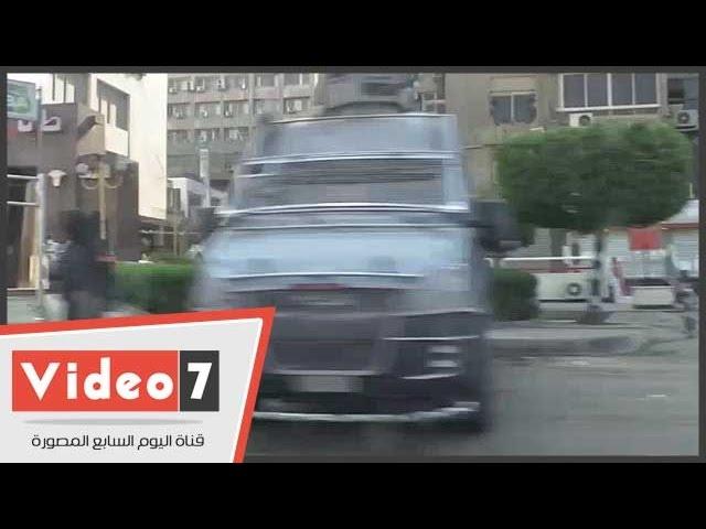 سيولة مرورية فى ميدان رابعة العدوية وتمركز قوات الجيش والشرطة للتأمين